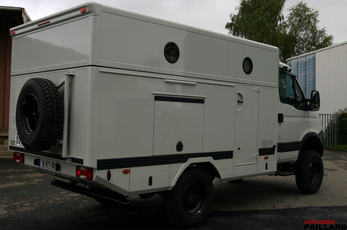 Camping-car IVECO Daily 4×4